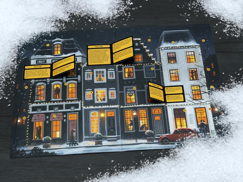 Läs mer om Daring December Adventskalender för Par