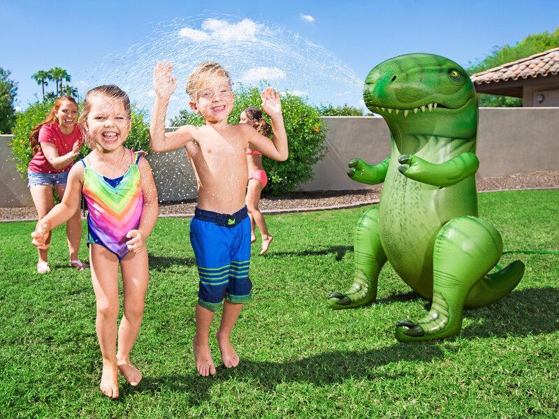Dinosaurie - Bestway Vattenspridare Uppblåsbar T-Rex