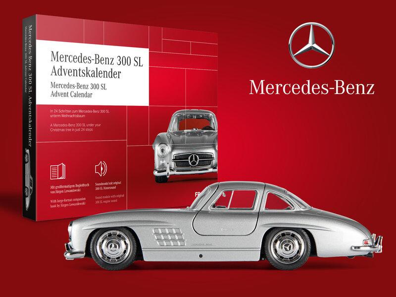 Läs mer om Mercedes-Benz 300 SL Adventskalender