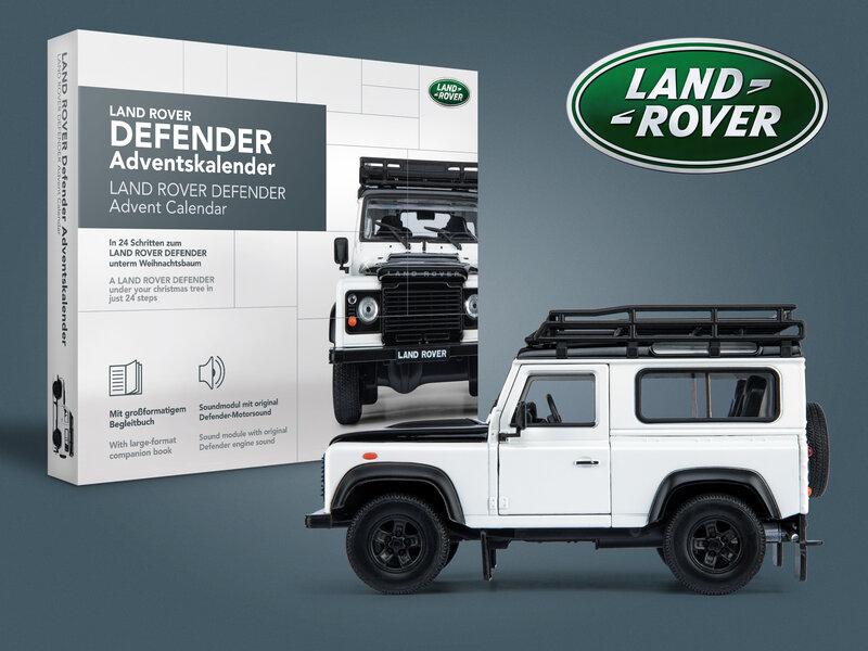Läs mer om Land Rover Defender Adventskalender