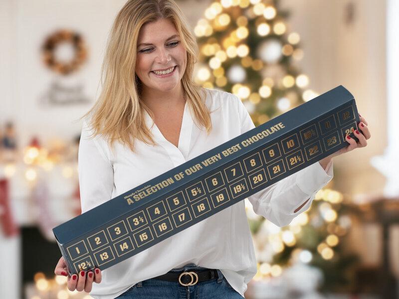 Läs mer om Simply Chocolate Chokladkalender För Två