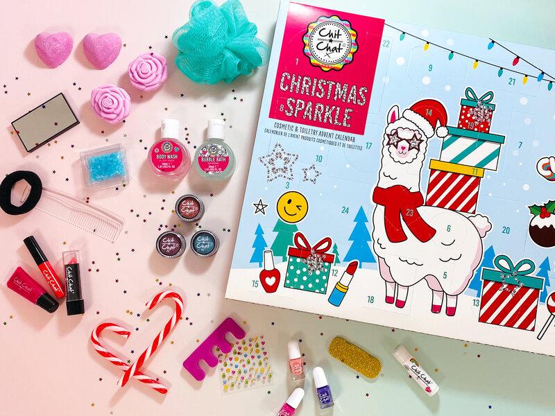 Läs mer om Chit Chat Christmas Sparkle Sminkkalender