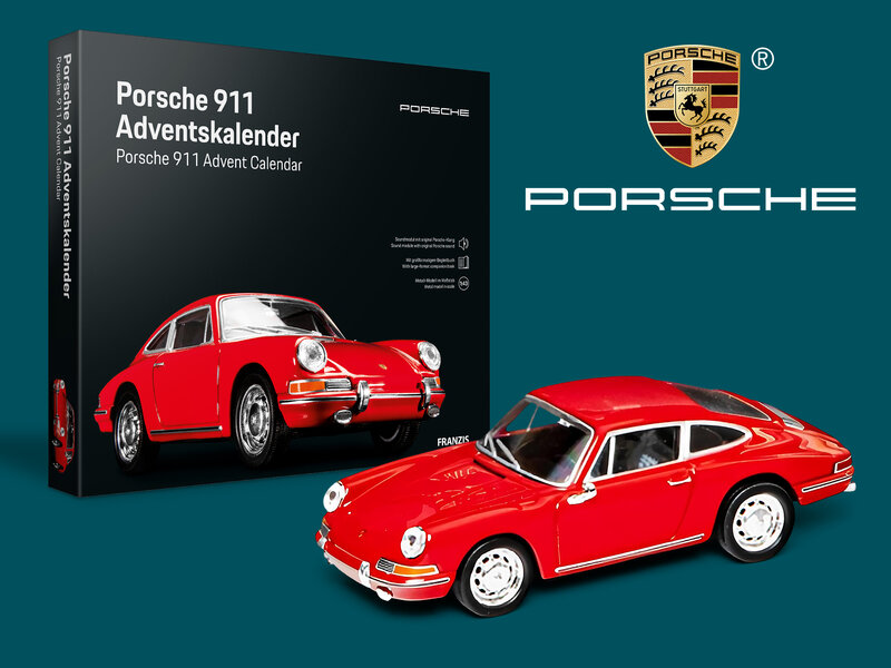 Läs mer om Porsche 911 Adventskalender