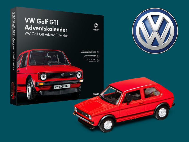 Läs mer om Volkswagen Golf GTI Adventskalender