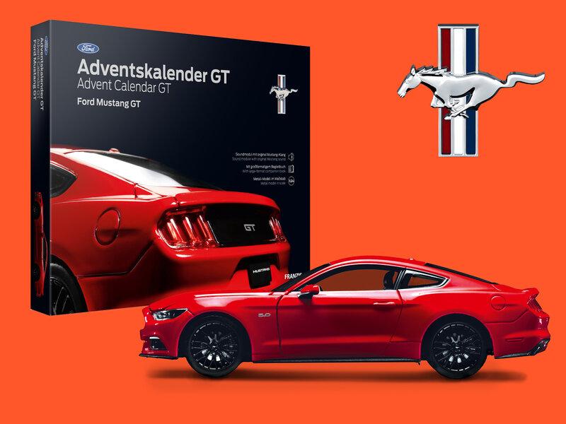 Läs mer om Ford Mustang GT Adventskalender