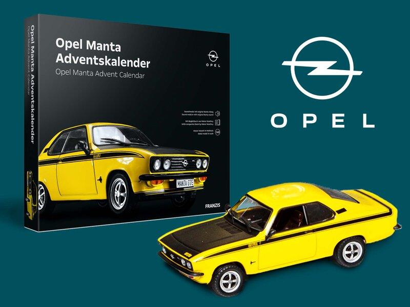 Opel Manta Adventskalender