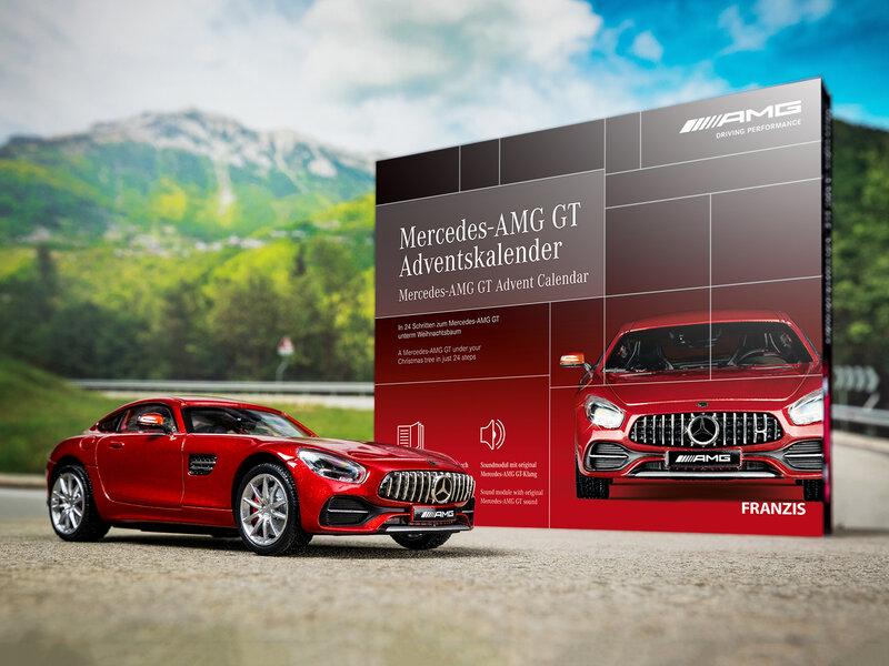 Läs mer om Mercedes-AMG GT Adventskalender