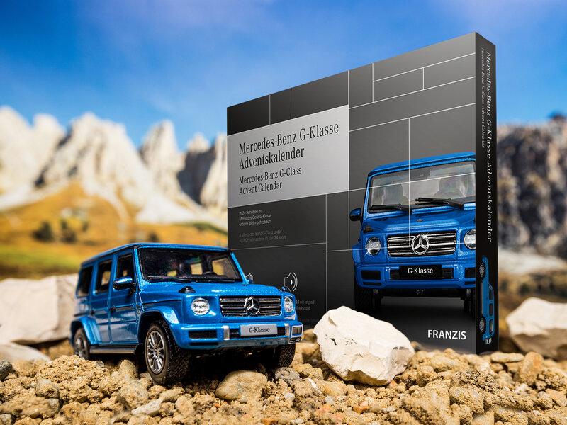 Läs mer om Mercedes Benz G-Klass Adventskalender