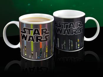 Star Wars Färgskiftande Muggar Lightsaber