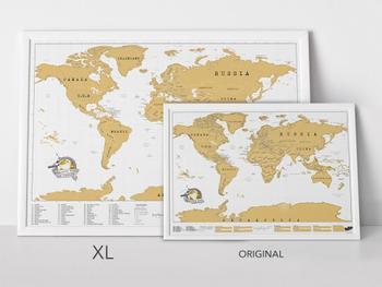 Scratch Map XL