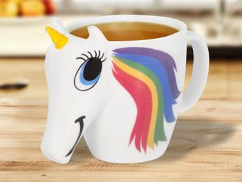 Färgskiftande Unicorn-Mugg