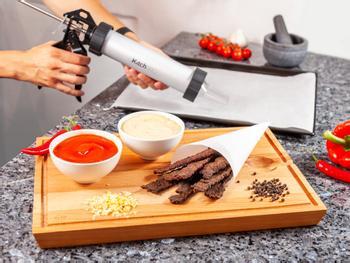 KitchPro Beef Jerky-pistol
