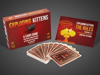 Exploding Kittens Kortspel