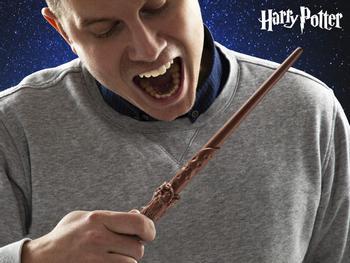 Harry Potter Trollstav av Choklad
