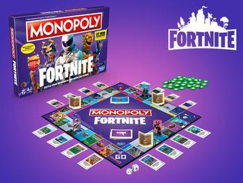 Fortnite Monopol Spel