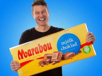 Gigantiskt Choklad Marabou