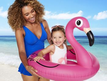 Flamingo Badring Baby
