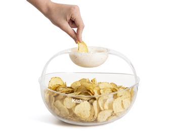 KitchPro Chips- och Dippskål