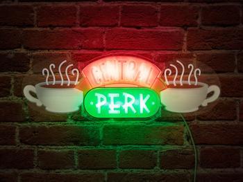 Central Perk LED-lampa