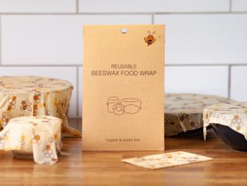 Beeswax Food Wrap Bivaxduk 5-pack