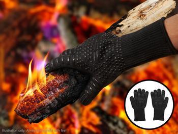 KitchPro Värmetåliga Grillhandskar