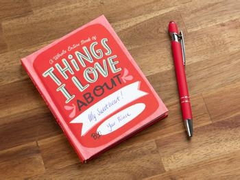 Things I Love About You Fyll-i-bok