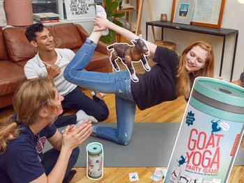 Goat Yoga Spel