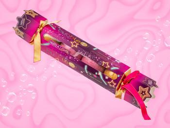 Bubble T Christmas Cracker med Badbomber