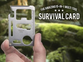 Outlust Survival Card - Multiverktyg
