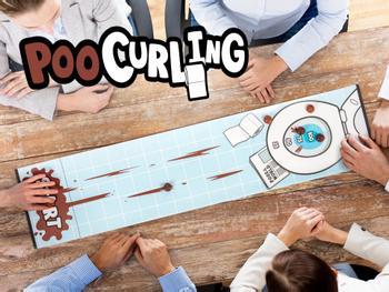 Poo Curling Spel
