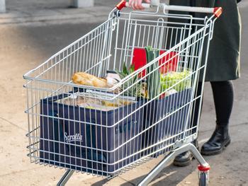 Spralla Shoppingväskor till Kundvagnen 3-pack