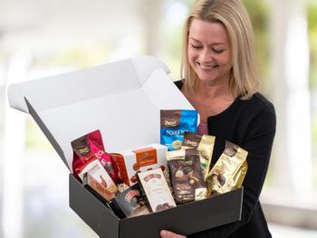 Presentlåda för Chokladälskaren