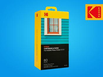Kodak Printer Dock Foto- och Färgkassett 80-pack