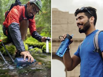 LifeStraw Go Flaska med Vattenrening
