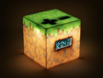 Minecraft Digital Väckarklocka