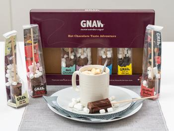 Gnaw Varm Choklad Smakäventyr 8-pack