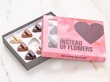 Simply Chocolate Chokladask - Instead of Flowers