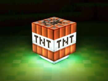 Minecraft TNT Lampa