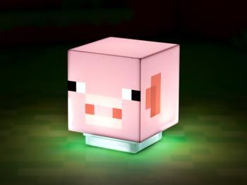 Minecraft Pig Lampa