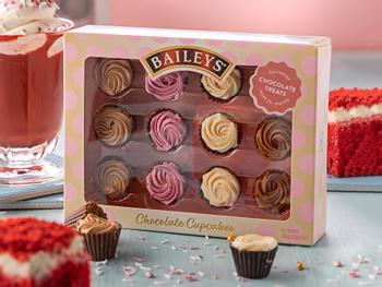 Baileys Cupcakes Chokladask