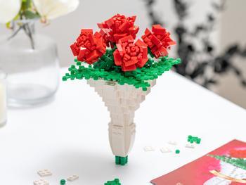 Spralla Blombukett 3D-byggsats