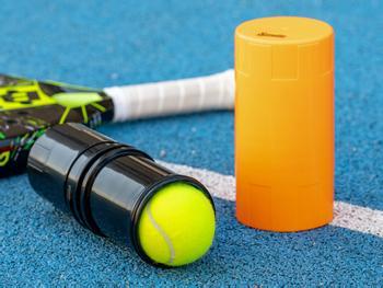 Spralla® Tryckbehållare för Padel- och Tennisbollar