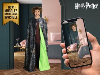 Harry Potter Osynlighetsmantel