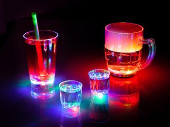 Blinkande Partyglas