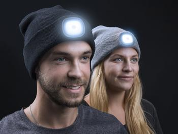 Spralla LED Beanie Mössa