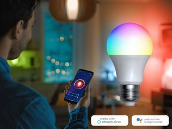 Denver Smart RGB LED-lampa Wi-Fi
