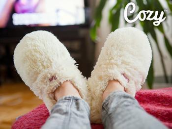 Cozy Slippers Värmetofflor