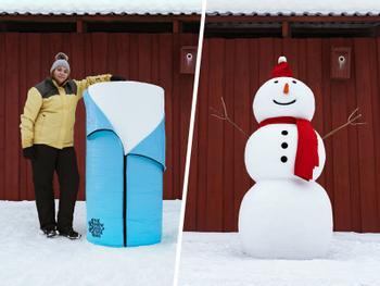 Snöskulpturssäcken