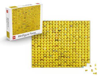 Lego Minifigure Faces Pussel 1000-bitar