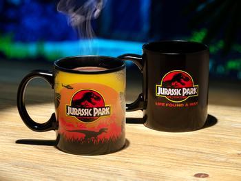 Jurassic Park Färgskiftande Mugg